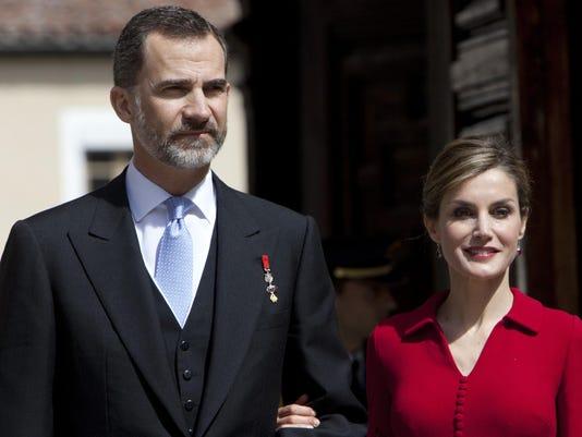 King Felipe VI of Spain,Queen Letizia of Spain