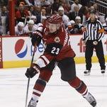 Arizona Coyotes' Oliver Ekman-Larsson remains sidelined vs. Flames