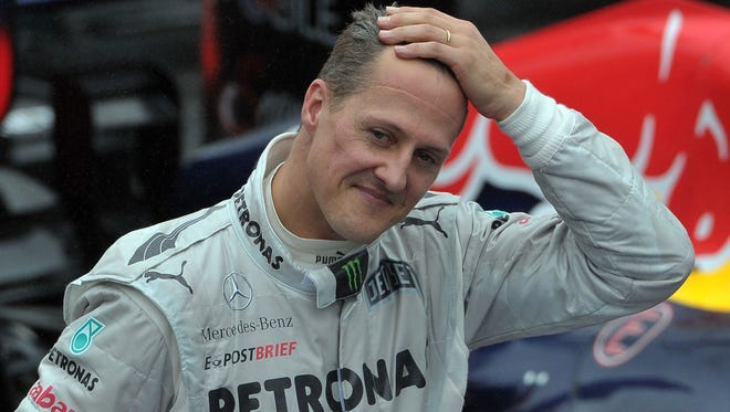 Michael Schumacher suffered a traumatic head injury during a skiing accident more than two and a half years ago.