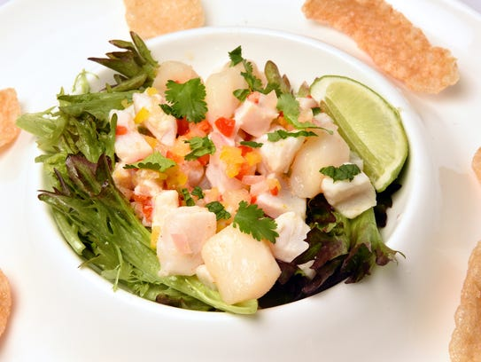 Ceviche from Avvino.