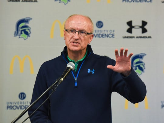 Dave Gantt is vice president for athletics at the University