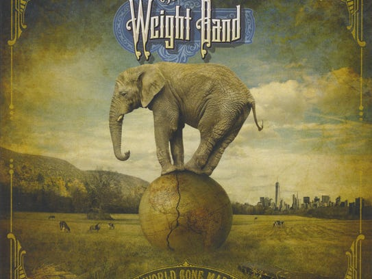 """The cover of the new CD by The Weight Band, """"World"""