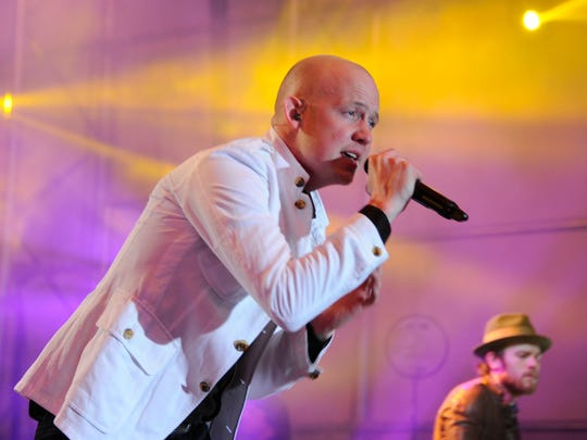 Isaac Slade will perform with the Fray on Aug. 11 at the Indiana State Fair.