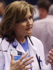 Nancy Anness, a family nurse practitioner, helped launch
