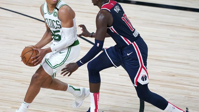 Celtics forward Gordon Hayward, who had missed 12 playoff games after getting hurt on Aug. 17, was a game-time decision for Game 3 of the Eastern Conference final series against the Heat on Saturday night.