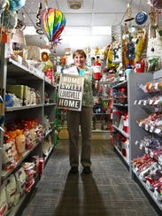 Debbie Skaggs is the store manager of the gift shop