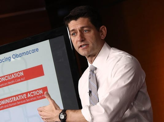 House Speaker Paul Ryan Holds Weekly Briefing