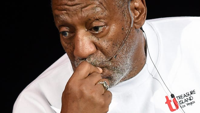 Comedian/actor Bill Cosby performs at the Treasure Island Hotel & Casino on Sept. 26, 2014 in Las Vegas.