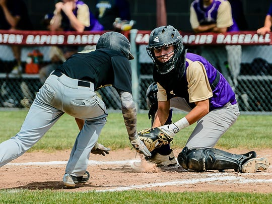 Fowlerville catcher Sam Browne hit .393 and made all-county last season.