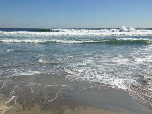 Surf linked to Hurricane Cristobal in late August 2014