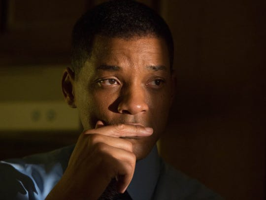 "Will Smith in ""Concussion."" The movie opens Friday"