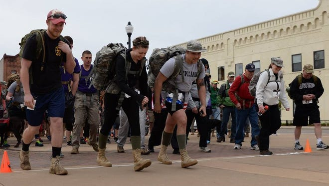"""The Third Annual """"Reeder's Ruck March"""" will begin at Mathias Mitchell Public Square in downtown Stevens Point on Saturday, April 29."""