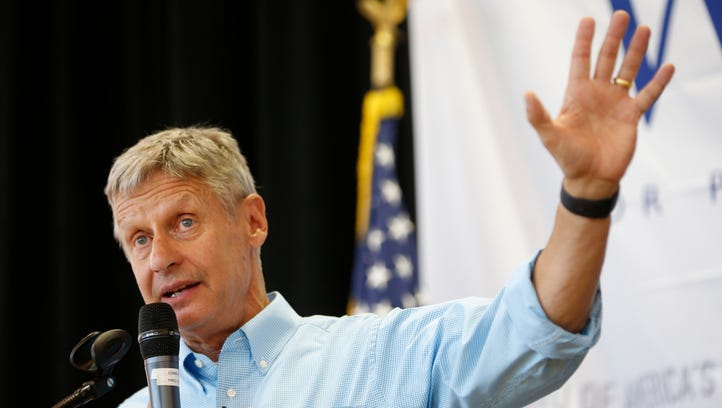 Watch: Gary Johnson has another 'Aleppo moment' in interview