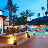 The pool area at Spa Las Palmas at the Omni Rancho Las Palmas Resort & Spa in Rancho Mirage.