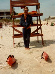 Tim Ferry in the early 1980s in Bethany Beach.