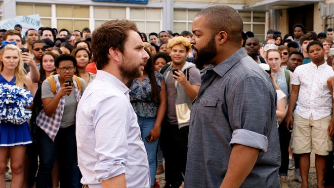Charlie Day and Ice Cube play two teachers who face off after school in the comedy 'Fist Fight.'