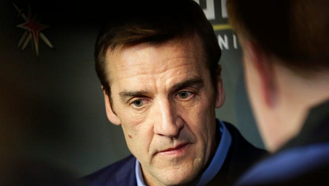 Vegas Golden Knights general manager George McPhee