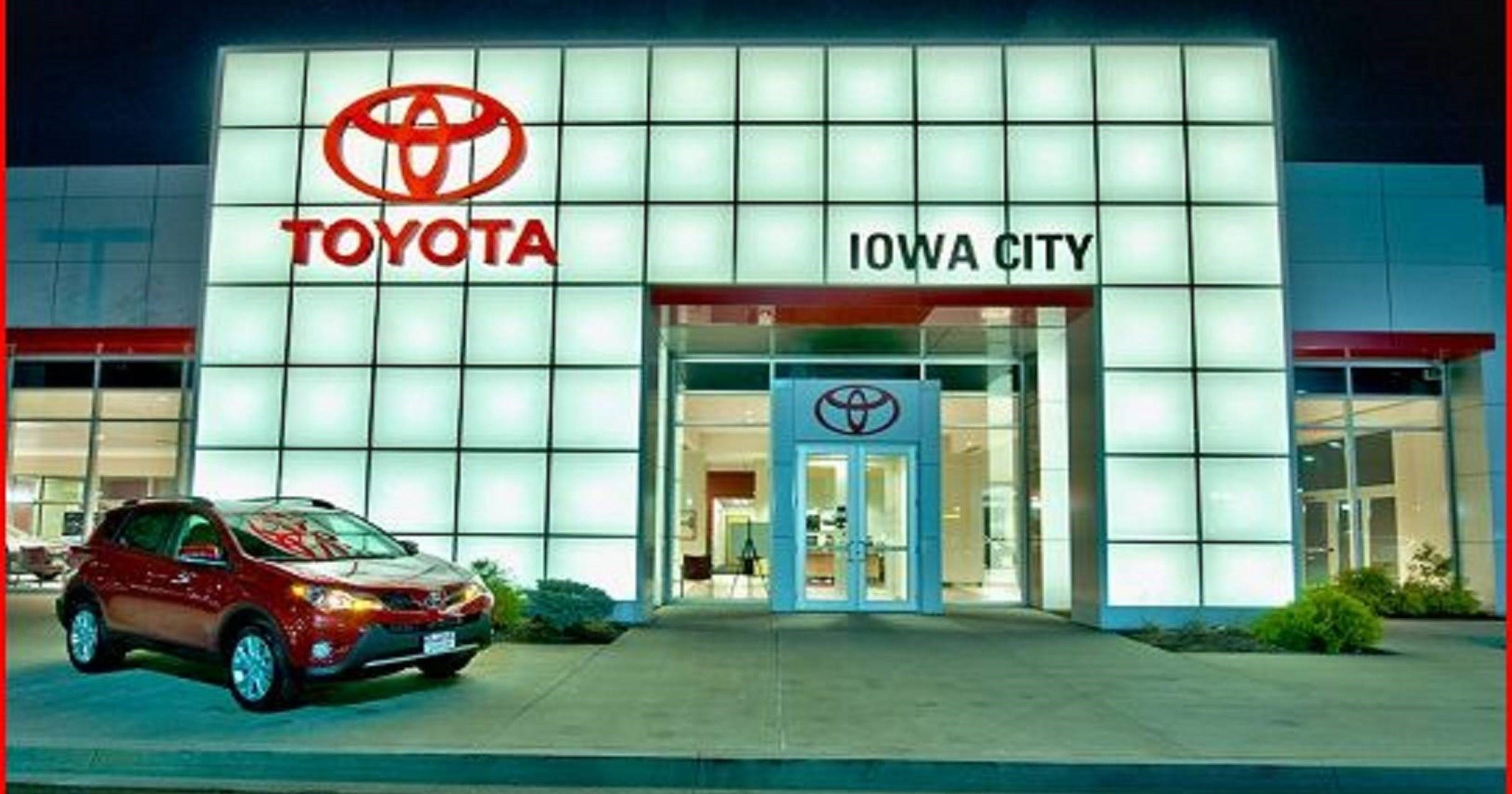 Toyota Iowa City >> Best New Car Dealer Toyota Scion Of Iowa City