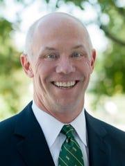 Christopher Lucier, vice president for enrollment management at the University of Delaware.