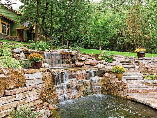 From small fountains to large koi ponds, there are
