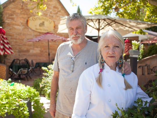 Wayne and Patricia Johnson use their combined experience in culture, music, gardening and culinary arts to create an authentic dining experience at The Granary Friday, Sept. 25, 2015.