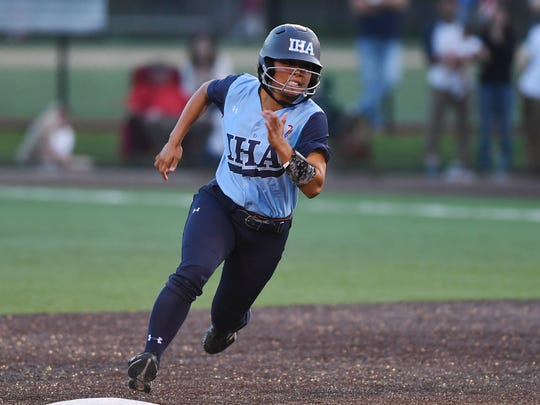 IHA senior Reese Guevarra batted .510 with 52 hits to help lead the Blue Eagles to their third straight Non-Public A title.