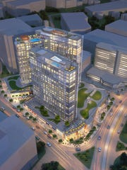 The proposed $275 million project at the site of the
