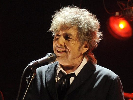 Newly crowned Nobel laureate Bob Dylan is performing in Jacksonville on Nov. 8.