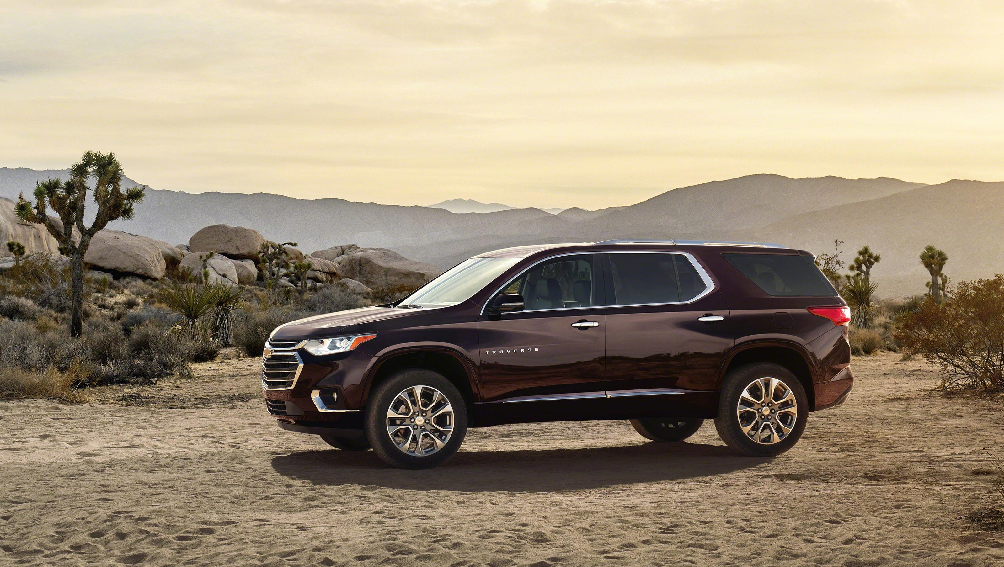 2018 Chevy Traverse s new looks improved mpg