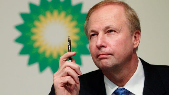 BP CEO Bob Dudley.
