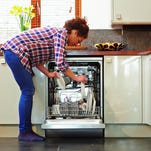Dishwasher tip: run the water in the sink until it is hot, then turn on the machine and it will have hot water right away.