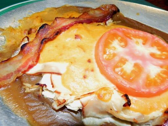 Hot brown open-faced turkey sandwich
