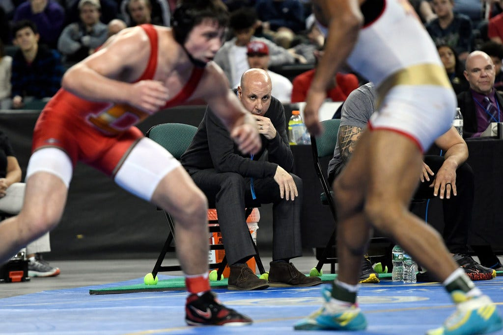 Milford wrestling coach sex abuse