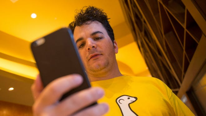 Ben Rubin, CEO and founder of Meerkat, the live video-streaming service that piggybacks on Twitter.