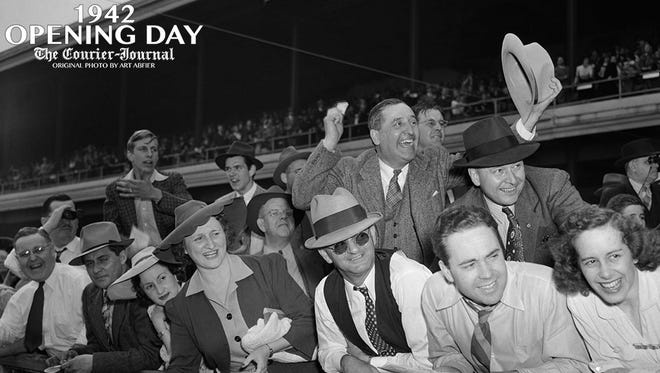 Iconic Image Kentucky Derby Opening Day