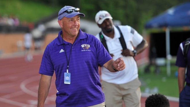 Western Carolina's Danny Williamson has won 29 Southern Conference track championships in men's and women's indoor and outdoor track and field.
