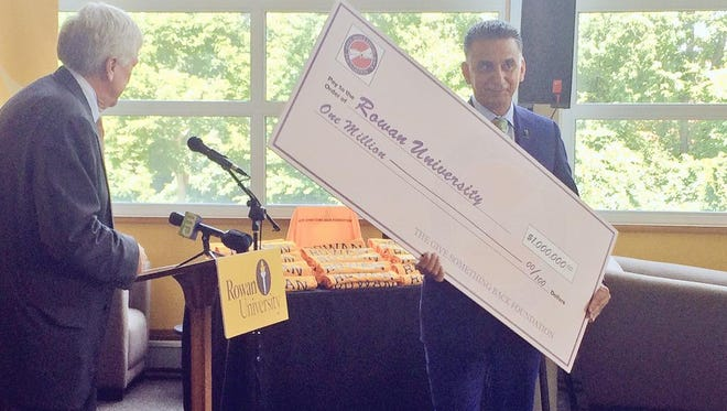 Fifty students will attend Rowan for free thanks to a $1 million donation.