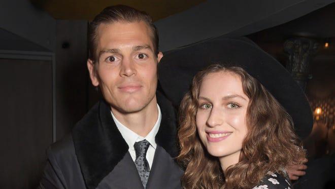 Ian Jones and Tali Fruchtmann