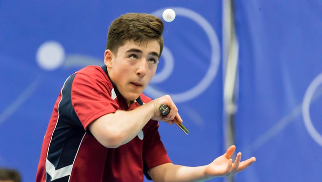 Sharon Alguetti, who plays at the Westchester Table Tennis Center in Pleasantville, came up just short of qualifying for the Olympics.