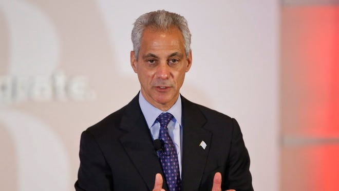 Chicago Mayor Rahm Emanuel announced Thursday that the city would immediately implement about a third of the reforms recommended by the Chicago Police Accountability Task Force last week. The task force published its findings last week and concluded the nation's second biggest police department is beset by systemic racism.