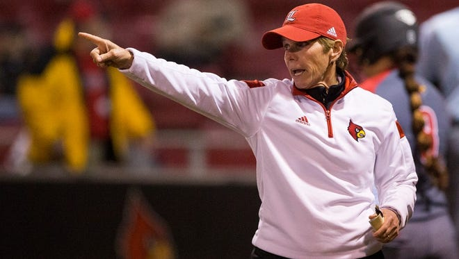 Louisville softball coach Sandy Pearsall has the Cardinals in the NCAA Tournament for the 13th straight year.