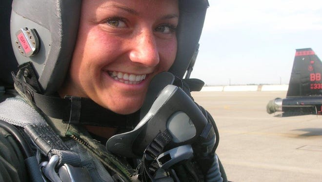 Christy Wise is the first female Air Force pilot to be cleared to return to the cockpit following an above-knee amputation.