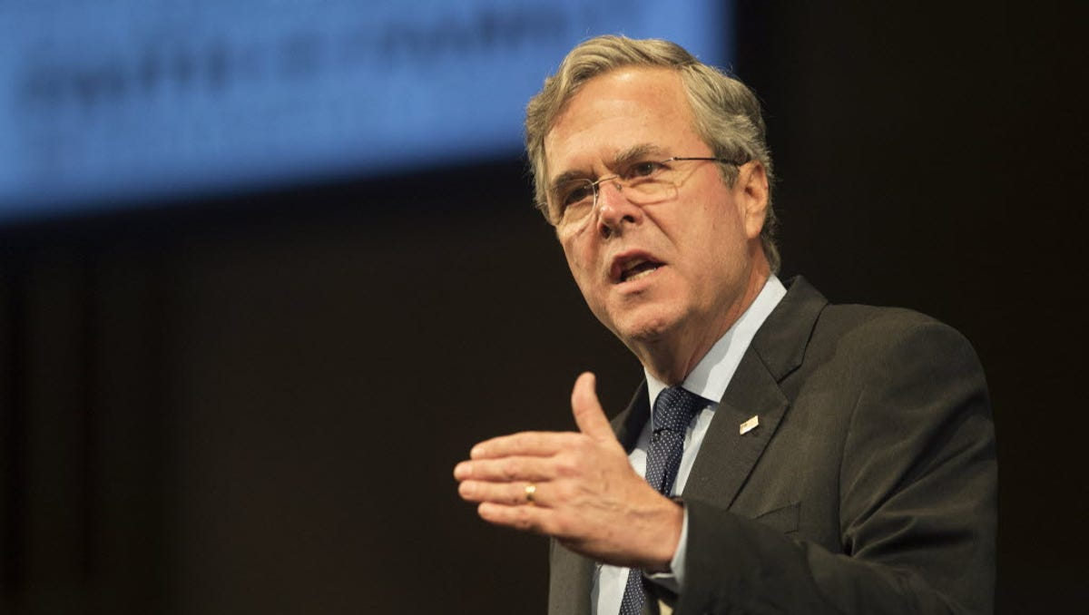Once revered, Jeb Bush now an object of scorn for refusing to back Trump