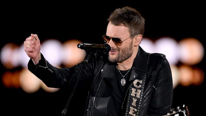 "Country star Eric Church has announced his ""Holdin' My Own Tour,"" with stops at Green Bay's Resch Center Jan. 21 and the BMO Harris Bradley Center in Milwaukee April 14."