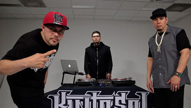 Local Latin hip-hop trio Kinto Sol has released its second album in the two years.