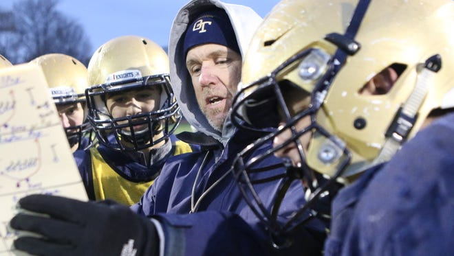 NV/Old Tappan coach Brian Dunn is trying to lead the Knights to the North 1, Group 3 championship.