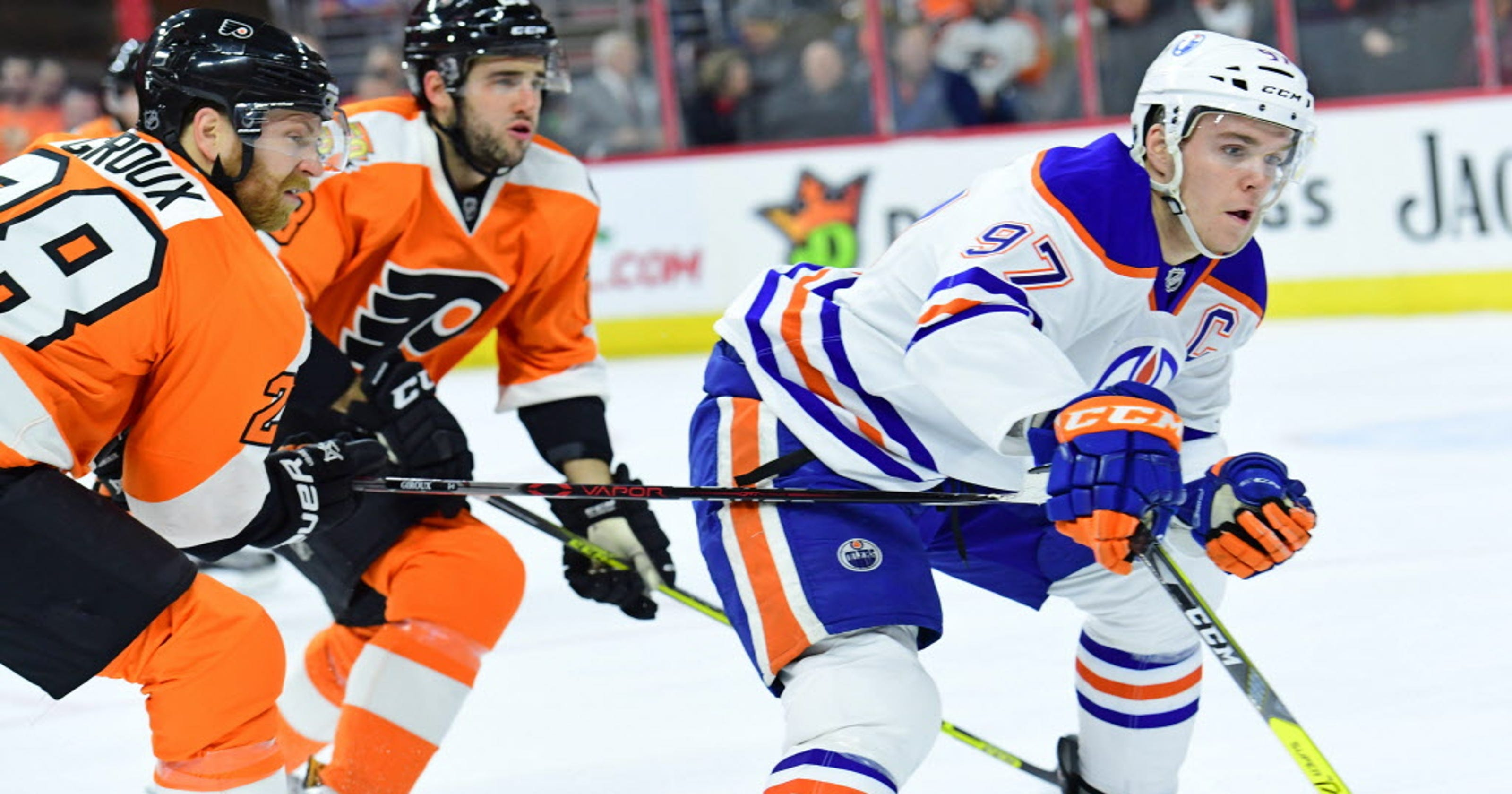 premium selection d882f 580b0 Connor McDavid calls out Flyers' Brandon Manning after ...