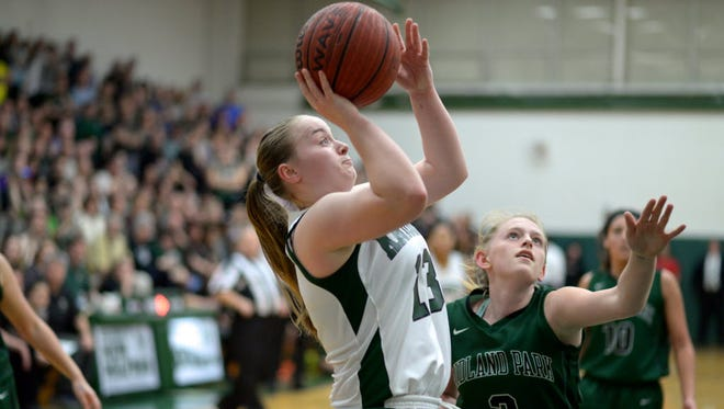 New Milford senior guard Natalie Miller is averaging 14.7 points per game, and has made 40 three-pointers this season. Miller has helped the Knights to a 9-3 record, including a win over Paramus Catholic in the Bergen County tournament.