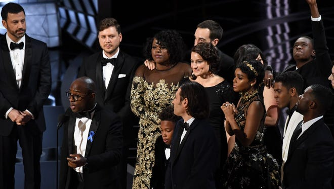 """Oscar best picture for """"Moonlight""""  on Feb. 26, 2017."""