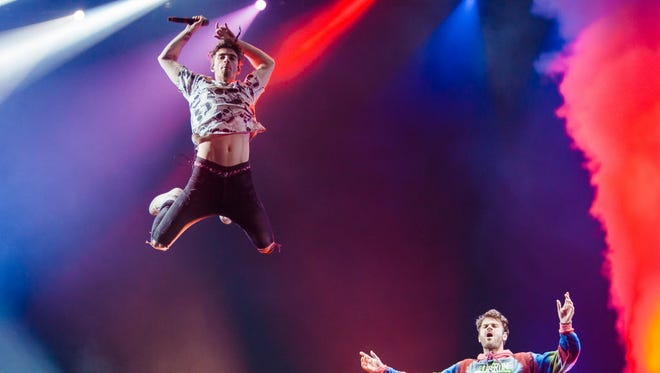 EDM duo the Chainsmokers will headline Summerfest's American Family Insurance Amphitheater on a millennial-focused July 4.